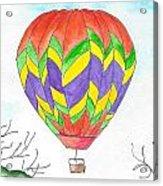 Hot Air Balloon 10 Acrylic Print