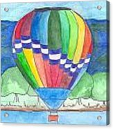 Hot Air Balloon 11 Acrylic Print