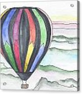 Hot Air Balloon 12 Acrylic Print