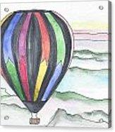 Hot Air Balloon 12 Acrylic Print