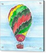 Hot Air Balloon Misc 03 Acrylic Print