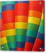 Hot Air Balloon Painterly Acrylic Print