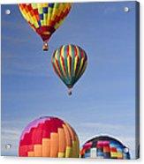 Hot Air Balloon Race Acrylic Print