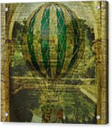 Hot Air Balloon Voyage Acrylic Print