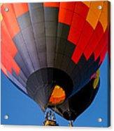 Hot Air Ballooning Acrylic Print by Edward Fielding