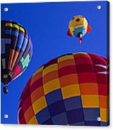 Hot Air Balloons Launch Acrylic Print