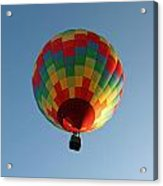Hot-air Balloons Over Paradise - Immokalee 2014  Number 2  Acrylic Print