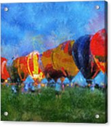Hot Air Balloons Photo Art 01 Acrylic Print