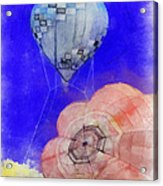 Hot Air Balloons Photo Art 03 Acrylic Print