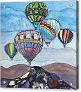 Hot Air Baloons Acrylic Print