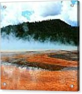 Hot And Steamy Acrylic Print