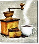 Hot Black Coffee Acrylic Print