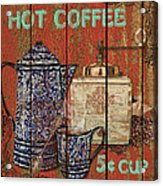Hot Coffee Acrylic Print