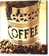 Hot Coffee Acrylic Print