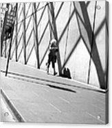 Hot Day Russell Street Acrylic Print by Lee Stickels
