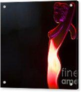 Hot Girl Acrylic Print