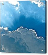 Hot Italian Clouds Acrylic Print