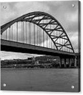 Hot Metal Bridge Acrylic Print