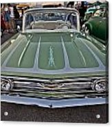 Hot Rod Chevy Acrylic Print by Merrick Imagery