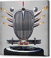 Hot Rod Crest Acrylic Print by Frederico Borges