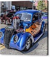Hot Rod Car Acrylic Print