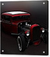 Hot Rod Ford Art Acrylic Print