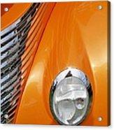 Hot Rod Headlight Acrylic Print