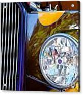 Hot Rod Show Car Light Acrylic Print