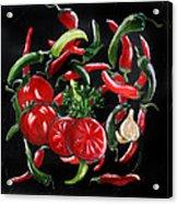 Hot Salsa Acrylic Print