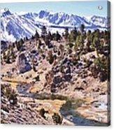 Hot Sierra Spring Acrylic Print
