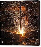 Hot Steel Acrylic Print