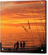 Hot Sunset Acrylic Print