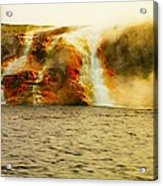 Hot Water Pouring Acrylic Print