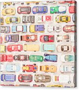 Hot Wheels Square Format Acrylic Print