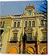 Hotel Alfonso Xiii - Seville Acrylic Print