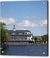 Hotel At Lake Winnipesaukee Acrylic Print