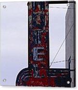 Hotel Club And Bar  Plentywood Montana Acrylic Print