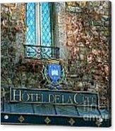 Hotel De La Cite Acrylic Print by France  Art