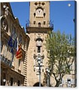 Hotel De Ville - Aix En Provence Acrylic Print