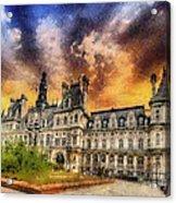 Sunset At The Hotel De Ville Acrylic Print