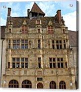 Hotel De Ville - Paray Le Monial Acrylic Print