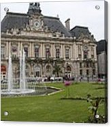 Hotel De Ville - Tours Acrylic Print