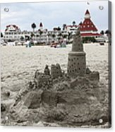 Hotel Del Coronado In Coronado California 5d24264 Acrylic Print by Wingsdomain Art and Photography