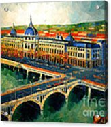Hotel Dieu De Lyon II Acrylic Print