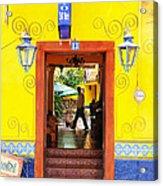 Hotel Estancia - Ajijic - Mexico Acrylic Print