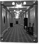 Hotel Hallway Acrylic Print