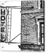 Hotel Acrylic Print