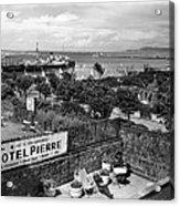 Hotel Pierre Dun Laoghaire 1958 Acrylic Print