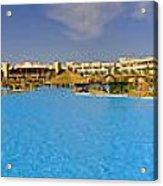 Hotel Resort Panorama Acrylic Print