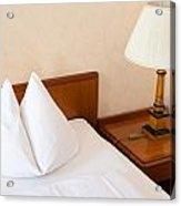 Hotel Room Acrylic Print